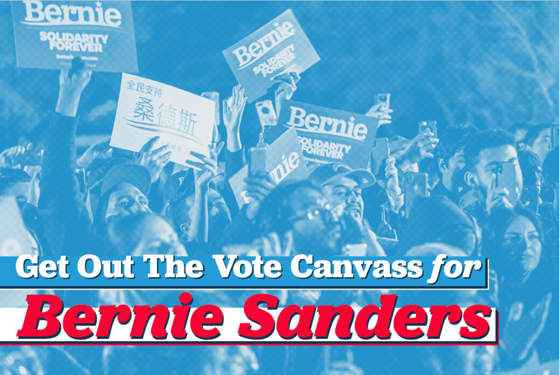 Bernie Sanders graphic