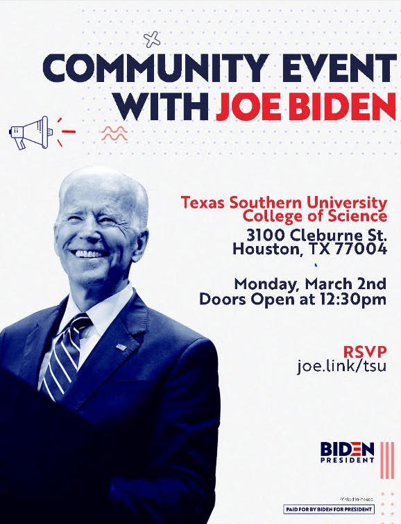 biden houston event